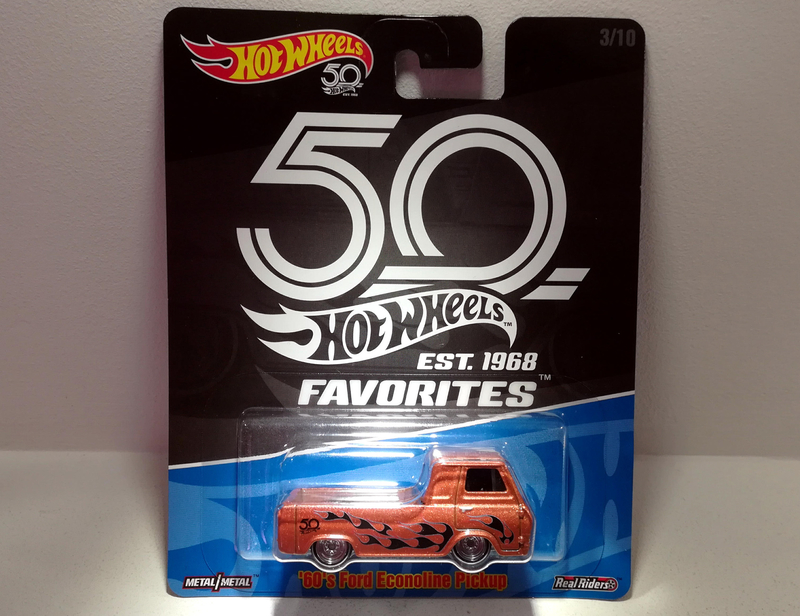 Ford Econoline Pickup de 1960s (Hotwheels Favorites)