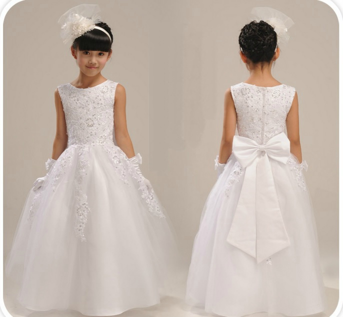 fd5346354a00d Robe blanche fille 9 ans - Mariage Toulouse