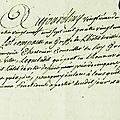 Le 20 août 1789 à mamers.