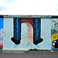 BERLIN, East Side Gallery, fresque de Youram Kim-Holdfeld (Allemagne)