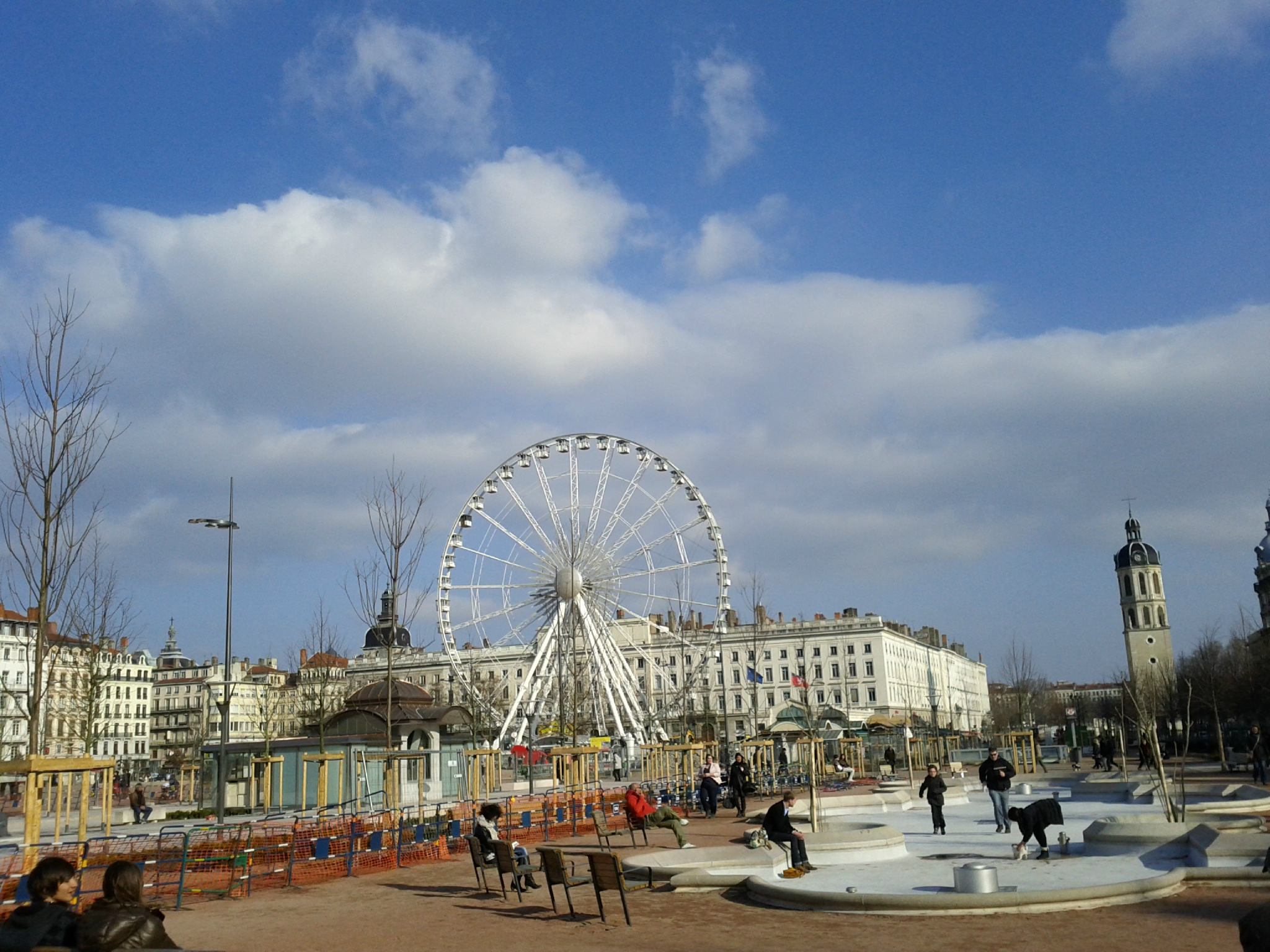 Grande Roue place Bellecour