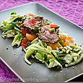 Yam nua - salade de boeuf thaï aux herbes