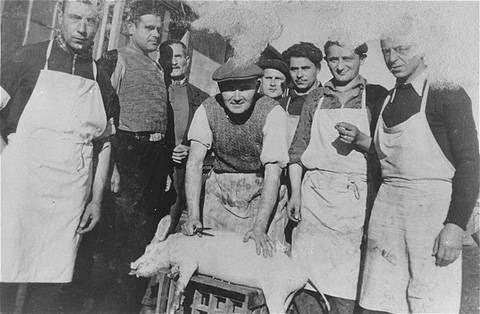 Prisonniers de Gurs 1944