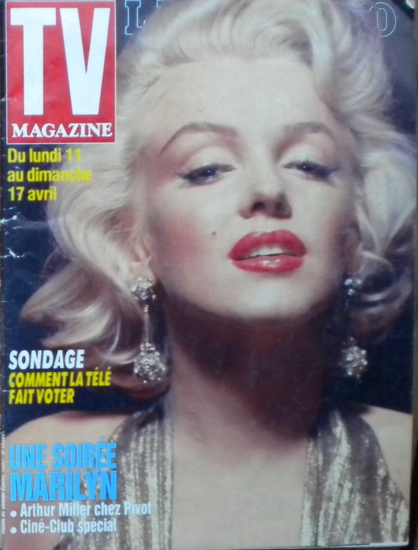 TV mag Figaro 1988