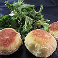 Croquettes de pommes de terre au boursin