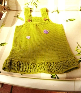 robe 3 mois pr laetitia coton missisipi de Katia lavec custo