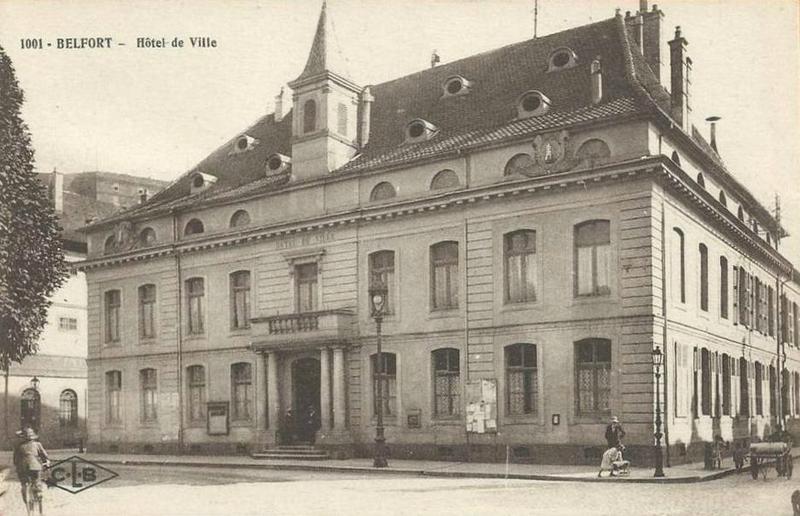 CPA Belfort Hôtel de ville