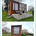 Une Tiny House au Parc Saint Symphorien des Monts