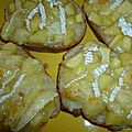 Tartines à la pomme & au camembert