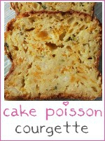 cake poisson blanc - courgette - index
