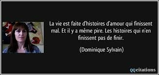 Citation de Dominique Sylvain