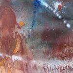 Sans_titre_2008_Ocre_de_Roussillon_et_acrylique_sur_papier__40cmx40cm