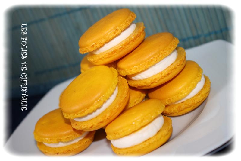 Macarons citron 8