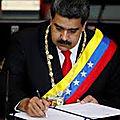 Vénézuela: le président maduro renforce la lutte contre le marché noir