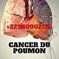 Traitement de cancer de poumon