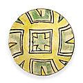 A nishapur buffware pottery bowl, persia, 9th-10th century