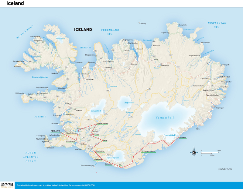 Trajet Islande