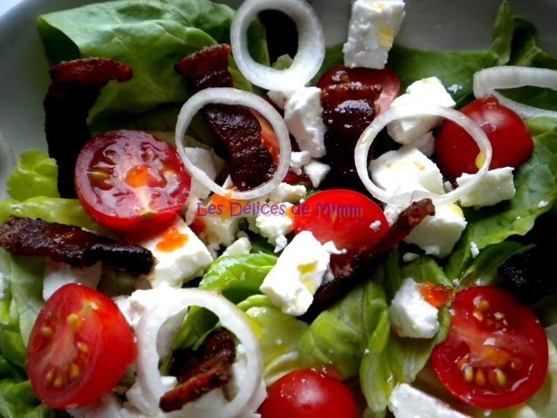 Salade feta et ventrêche croustillante 3