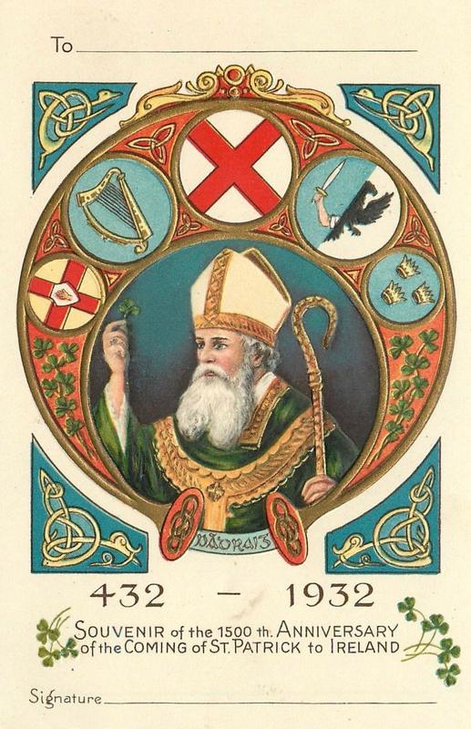 CPA Saint Patrick 1500e anniversaire